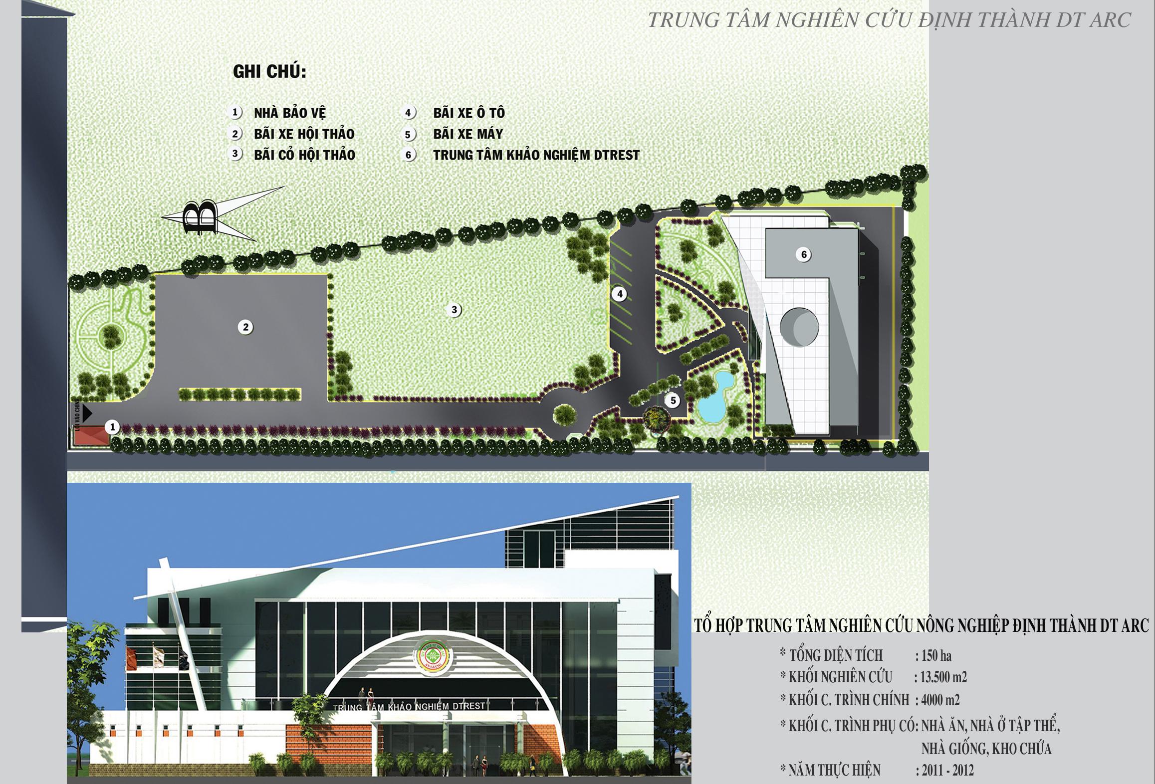 Trung tâm nghiên cứu nông nghiệp Định Thành DTARC